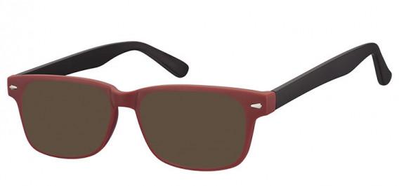 SFE-10560 sunglasses in Burgundy/Black