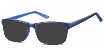 SFE-10559 sunglasses in Blue/Light Blue