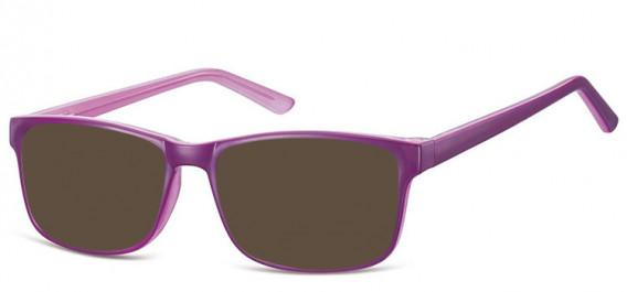 SFE-10559 sunglasses in Purple/Light Purple