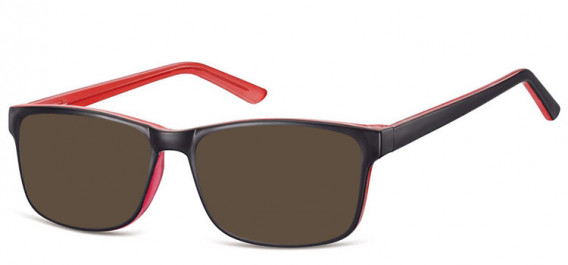 SFE-10559 sunglasses in Black/Pink