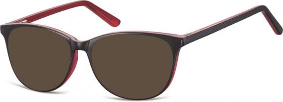 SFE-10556 sunglasses in Black/Rose