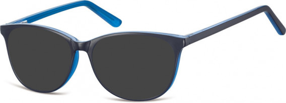 SFE-10556 sunglasses in Black/Blue