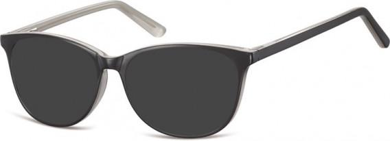 SFE-10556 sunglasses in Black/Grey