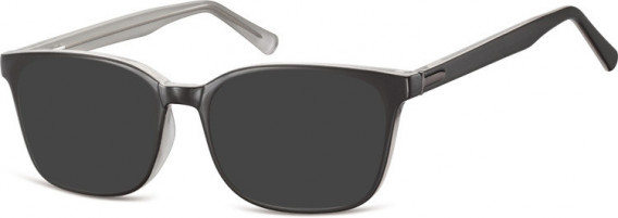 SFE-10555 sunglasses in Black/Grey