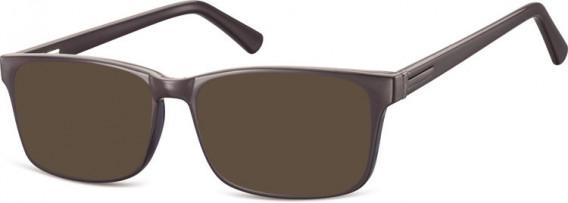 SFE-10554 sunglasses in Dark Brown
