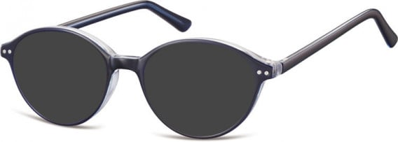 SFE-10552 sunglasses in Dark Blue/Clear