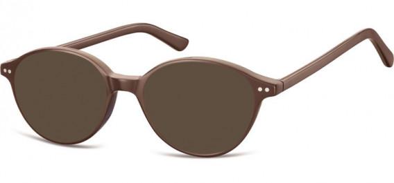 SFE-10552 sunglasses in Dark Brown