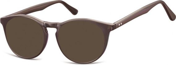 SFE-10551 sunglasses in Dark Brown