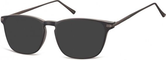SFE-10550 sunglasses in Black/Clear