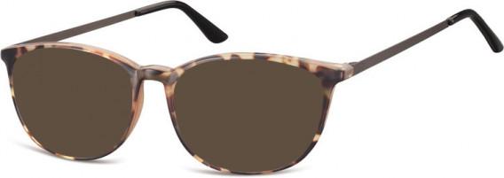 SFE-10549 sunglasses in Light Turtle