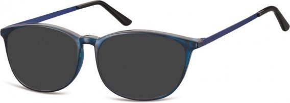 SFE-10549 sunglasses in Clear Dark Blue