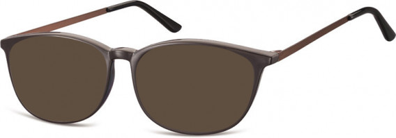 SFE-10549 sunglasses in Dark Brown