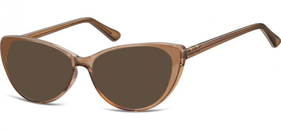 SFE-10545 sunglasses in Light Clear Brown
