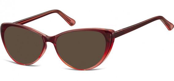 SFE-10545 sunglasses in Gradient Burgundy