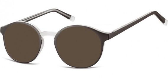 SFE-10544 sunglasses in Black/Transparent