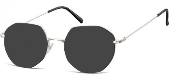 SFE-10530 sunglasses in Silver/Black