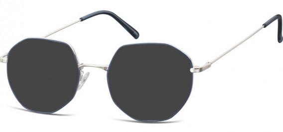SFE-10530 sunglasses in Silver/Blue