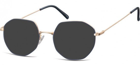 SFE-10530 sunglasses in Pink Gold/Blue