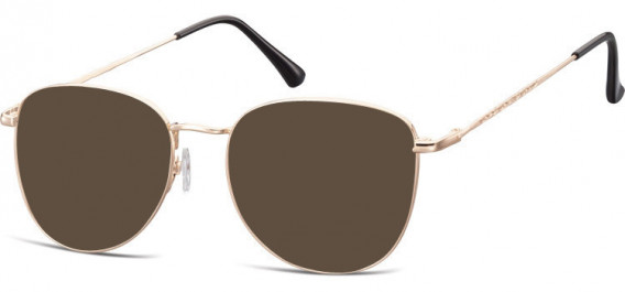 SFE-10529 sunglasses in Pink Gold