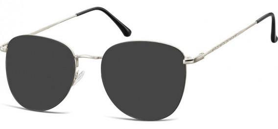 SFE-10529 sunglasses in Silver/Black