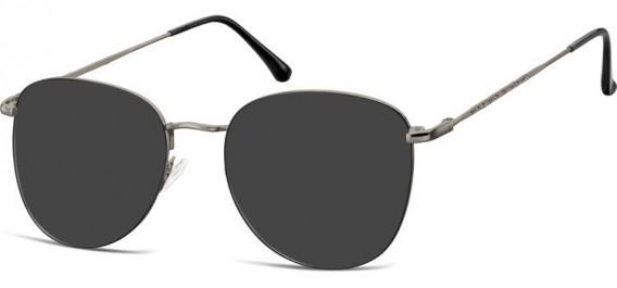 SFE-10529 sunglasses in Gunmetal/Black