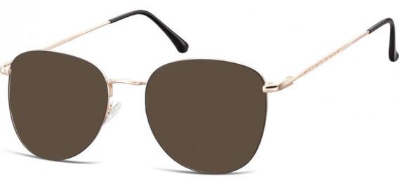 SFE-10529 sunglasses in Pink Gold/Black