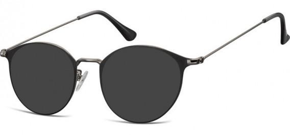 SFE-10528 sunglasses in Gunmetal/Black