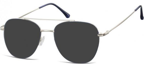 SFE-10527 sunglasses in Silver/Blue
