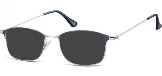 SFE-10526 sunglasses in Silver/Blue