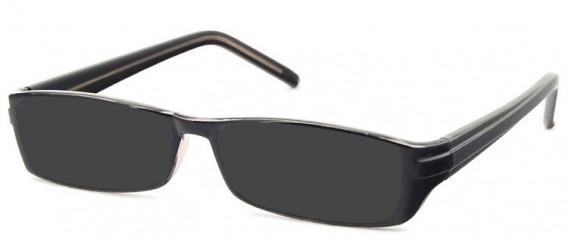 SFE-10581 sunglasses in Clear Grey