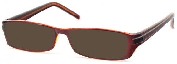 SFE-10581 sunglasses in Clear Brown