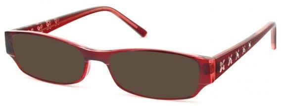 SFE-10580 sunglasses in Burgundy