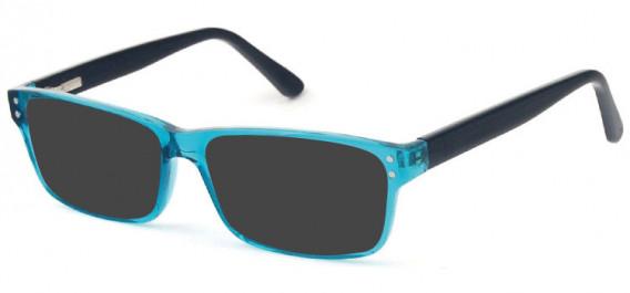 SFE-10575 sunglasses in Turquoise/Black
