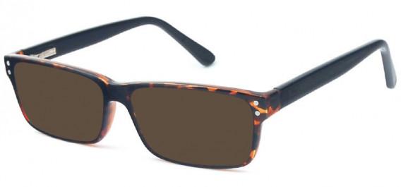 SFE-10575 sunglasses in Demi/Black