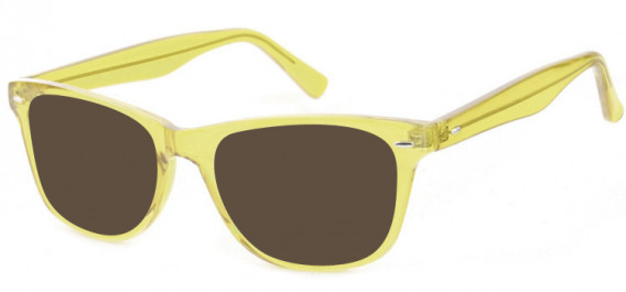 SFE-10573 sunglasses in Clear Yellow