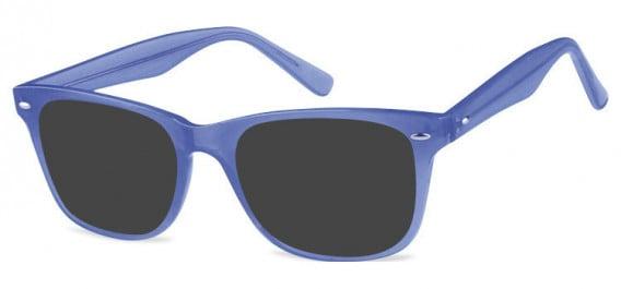 SFE-10573 sunglasses in Clear Blue