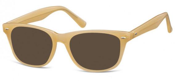 SFE-10570 sunglasses in Milky Brown