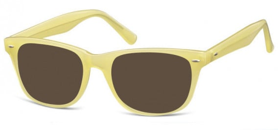 SFE-10570 sunglasses in Milky Beige