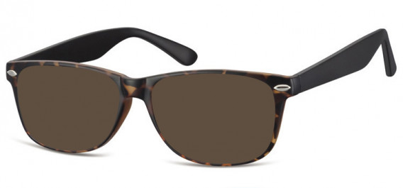 SFE-10569 sunglasses in Matt Turtle/Black