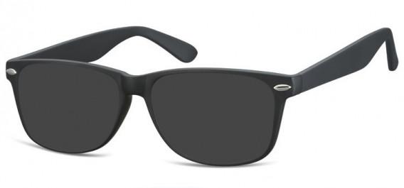 SFE-10569 sunglasses in Matt Black