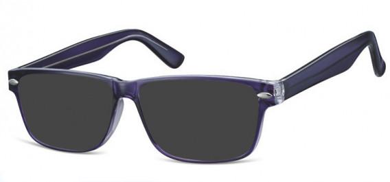 SFE-10568 sunglasses in Purple/Clear
