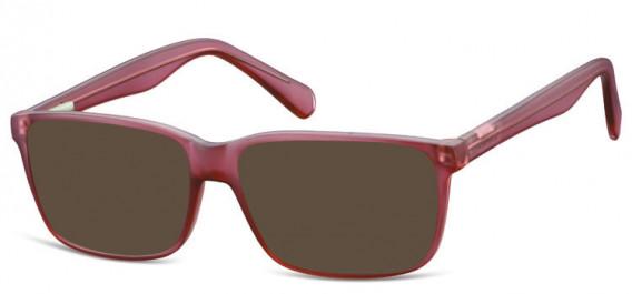 SFE-10565 sunglasses in Matt Burgundy