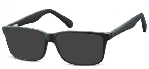 SFE-10565 sunglasses in Matt Black