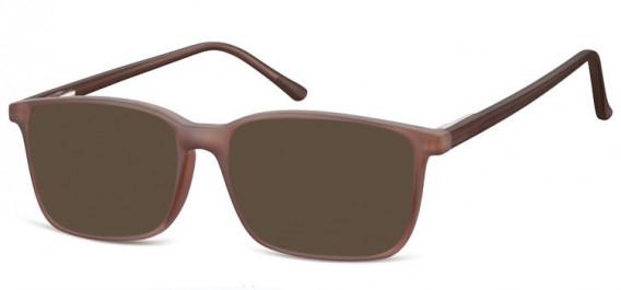 SFE-10564 sunglasses in Matt Light Brown