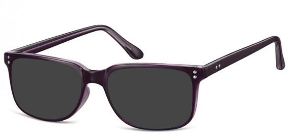 SFE-10563 sunglasses in Purple/Clear