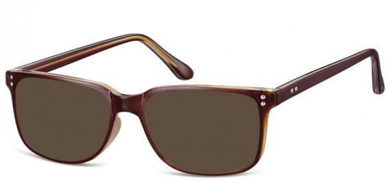 SFE-10563 sunglasses in Brown/Beige