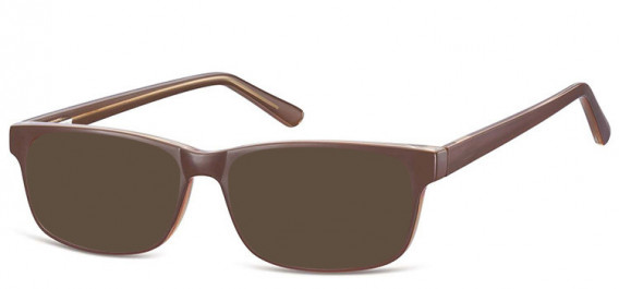 SFE-10558 sunglasses in Brown/Transparent