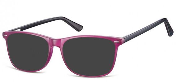 SFE-10557 sunglasses in Purple/Black