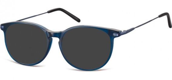 SFE-10553 sunglasses in Clear Dark Blue