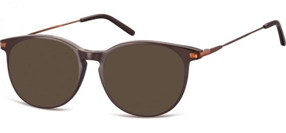 SFE-10553 sunglasses in Dark Brown